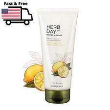THE FACE SHOP Herb Day 365 Master Blending Foaming Cleanser, 170ml/ 5.7fl.oz