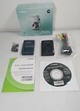 Canon PowerShot ELPH 300 HS / IXUS 220 HS 12.1MP Digital Camera, charger, disk