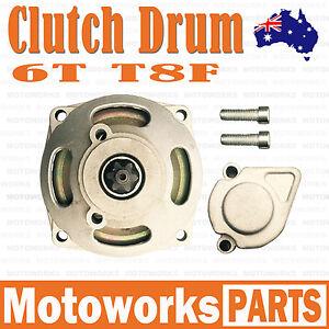 6T T8F Chain Clutch Drum Bell Housing Mini ATV QUAD Pocket Bike Dirt PIT Kids 01