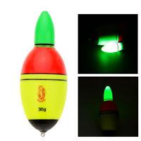 Night Luminous EVA Buoy Fishing Float Glowing LED Floats Fishing Bobber Surprise