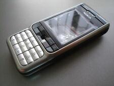New Nokia  3230 cover  keypad housing fascia set  black silver colour,A+ QUALITY