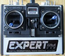 EXPERT FM DIGITAL PROPORTIONAL RADIO CONTROL SYSTEM TRANSMITTER WITH RECEIVER