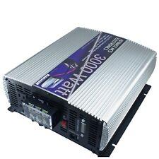 MCS 3000 w Watt 6000 Peak 12 V volt DC to 110/120 AC Car Truck Power Inverter