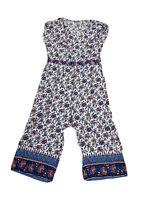 Ann Taylor Loft Plus Size Jump Suit Short Sleeves Size XL Wide Leg Pants
