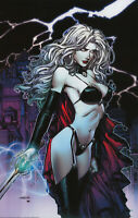 Lady Death Scorched Earth Print, Art by David Finch (11x17) - Comic Art