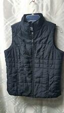 Womens Athletic Works Fleece Lined Black Puffer Vest Size 8 Medium