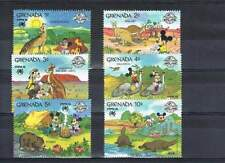Serie Disney postfris MNH Grenada: Mickey Donald Minnie Goofy (dis056)
