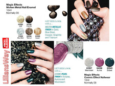 AVON Magic Effects Molten Metal & Cosmic Nail Enamel~Various Shades~RRP £6~SALE
