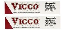 5 X 100 gm. Vicco Ayurvedic Herbal Toothpaste free shipping