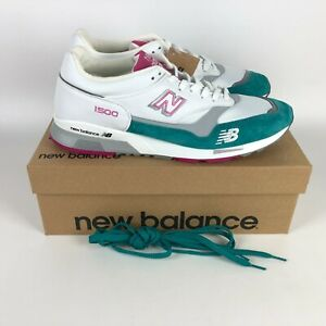 New Balance 'Miami' Made in England Sneaker Men's Size 12 White M1500WTP