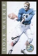 Doak Walker Signed HOF Series Card Autographed 849/2500 Lions 51606
