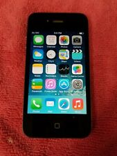 Apple iPhone 4 16GB Black A1332 (Unlocked) Vintage GSM World Phone FR442