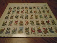 50 STATE BIRDS, YEAR OF ISSUE 1982,  50 DIFFERENT STAMPS
