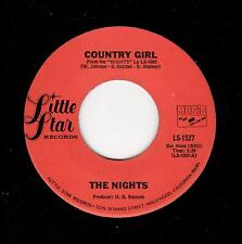 SOUL BALLAD/MODERN SOUL-NIGHTS-LITTLE STAR 1527-COUNTRY GIRL/LET THERE BE LOVE