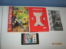 Sega Genesis Earthworm Jim - Works great - Includes manual