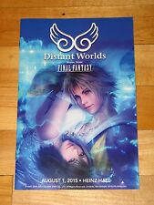 Distant Worlds Music from Final Fantasy Pittsburgh August 1 2015 concert program