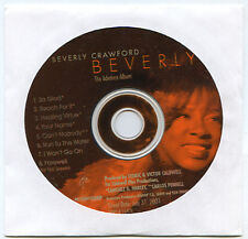BEVERLY CRAWFORD advance promo 2001 CD 8 tracks Paul Jackson Jr.