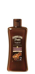 Hawaiian Tropic Professional Tanning Sun Tan Oil Intense SPF 2