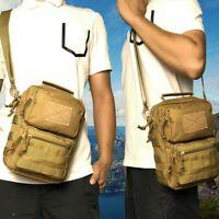 Tactical Battle Molle Shoulder Bag Military Assault Crossbody Sling Pack Pouch M