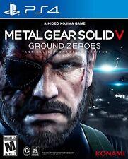 Metal Gear Solid 5 V Ground Zeroes Ps4 (Entrega Hoy ↓↓)