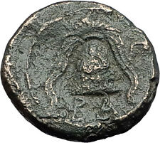 ALEXANDER III the Great 325BC Macedonia Shield Helmet Ancient Greek Coin i59637