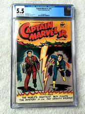 Captain Marvel Jr. #73 Fawcett Pub. May 1949 CGC 5.5 Off-White to White pages