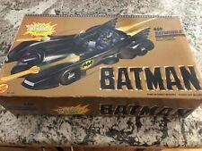 Batman Batmobile Vehicle w/rocket launcher, Toy Biz, 1989, DC Comics