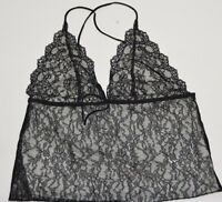 Ralph Lauren Black Label Women's  Black Lace Top Size Large