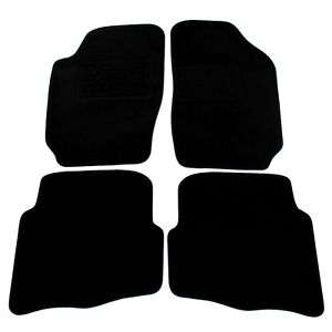 Velours Fußmatten Satz für Seat IBIZA 6L Automatten Stoffmatten Teilig NEU