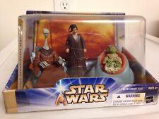 Hasbro Jedi High Council Yarael Poof - Depa Billaba - Yaddle Action Figure