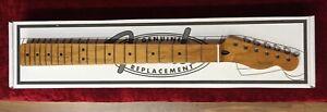 "Fender 1-Piece Roasted Maple Tele Telecaster Neck, 'C' Profile, 9.5"" Radius"