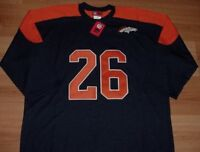 Clinton Portis #26 Denver Broncos Throwback Jersey Shirt Embroidered Logos NFL