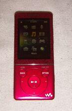 Sony Walkman NWZ-E473 (4GB) Digital Media MP3 Player Red. Works great.