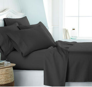DEEP POCKET SUPER SOFT FULL QUEEN & KING & CALIFORNIA KING SIZE FITTED BED SHEET