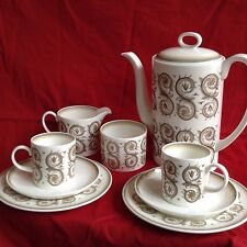 Wedgwood Susie Cooper Design Coffee Set for 6 people