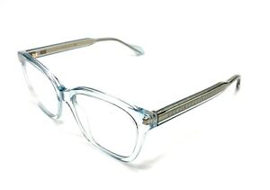 GUCCI GG0566O 003 Light Blue Women's Authentic Eyeglasses Frame 52 mm