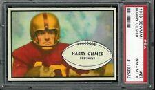 1953 Bowman #27 Harry Gilmer PSA 8 Washington Redskins