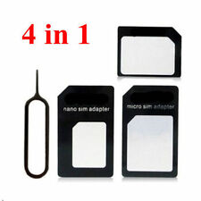 Sim Card Coverter 4in1 Nano-Micro Nano-Normal Micro-Normal + Sim Removal Tool T2