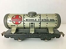 """*MARX 553* """"MIDDLE STATES OIL TANK CAR"""""""