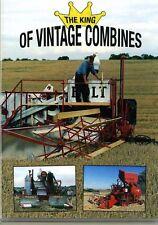 THE KING OF VINTAGE COMBINES DVD Massey Harris Ferguson Machines