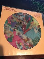 Walt Disney's Cinderella Picture Disc Record LP 3107