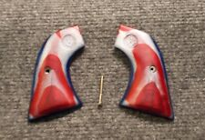 Custom Grips Ruger Single Six, Blackhawk Older XR3 Frames  Red, White and Blue