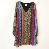 Intu S Small cold shoulder bohemian boho tunic top