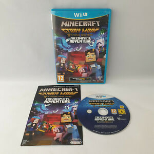 Nintendo Wii U - Minecraft Story Mode Telltale The Complete Adventure
