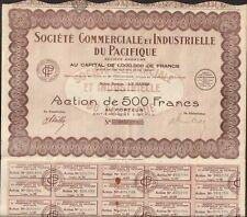 Société Commerciale & Industrielle du PACIFIQUE  (Q)