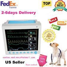 For Vet Icuccu Veterinary Patient Monitor Ecg Ekg Spo2 Pr Nibp 6 Parametersus