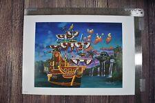 Disney Parks Disneyland Peter Pan's Captain Hook's Gallery by James Crouch Print