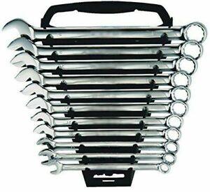 11 PC Piece Combination Spanner Set 6,7,8,9,10,11,12,13,14,17 & 19mm