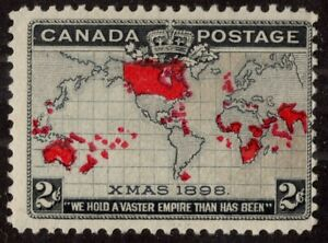 CANADA #85 2c MLH Imperial Penny Postage 1898 FINE  (2)