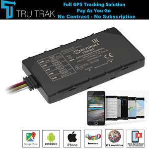 TruTrak GPS Tracker - Real Time Vehicle Car Van Tracking Device System - PAYG